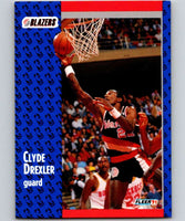 1991-92 Fleer #168 Clyde Drexler Blazers NBA Basketball
