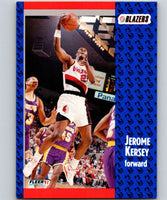 1991-92 Fleer #170 Jerome Kersey Blazers NBA Basketball