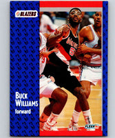 1991-92 Fleer #173 Buck Williams Blazers NBA Basketball