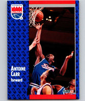1991-92 Fleer #174 Antoine Carr Sac Kings NBA Basketball