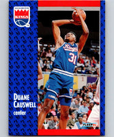 1991-92 Fleer #175 Duane Causwell Sac Kings NBA Basketball