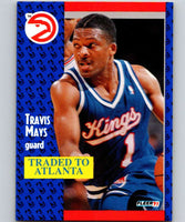 1991-92 Fleer #177 Travis Mays Sac Kings NBA Basketball