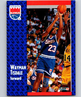 1991-92 Fleer #181 Wayman Tisdale Sac Kings NBA Basketball