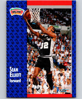 1991-92 Fleer #185 Sean Elliott Spurs NBA Basketball