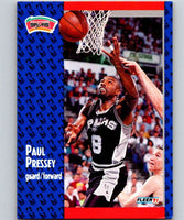 1991-92 Fleer #186 Paul Pressey Spurs NBA Basketball