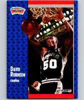 1991-92 Fleer #187 David Robinson Spurs NBA Basketball