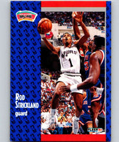 1991-92 Fleer #188 Rod Strickland Spurs NBA Basketball