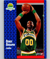 1991-92 Fleer #189 Benoit Benjamin NBA Basketball
