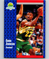 1991-92 Fleer #190 Eddie Johnson NBA Basketball