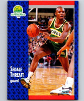 1991-92 Fleer #196 Sedale Threatt NBA Basketball