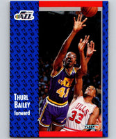 1991-92 Fleer #197 Thurl Bailey Jazz NBA Basketball