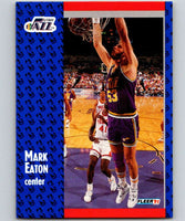 1991-92 Fleer #198 Mark Eaton Jazz NBA Basketball