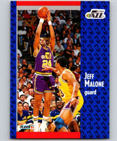 1991-92 Fleer #200 Jeff Malone Jazz NBA Basketball