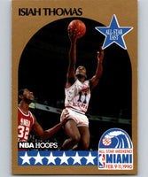 1990-91 Hoops #11 Isiah Thomas SP Pistons AS NBA Basketball