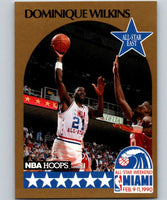 1990-91 Hoops #12 Dominique Wilkins SP Hawks AS NBA Basketball