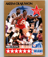 1990-91 Hoops #23 Hakeem Olajuwon SP Rockets AS NBA Basketball