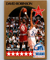 1990-91 Hoops #24 David Robinson SP Spurs AS NBA Basketball