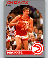 1990-91 Hoops #28 Jon Koncak Hawks NBA Basketball