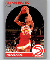 1990-91 Hoops #32 Doc Rivers Hawks NBA Basketball