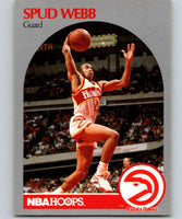 1990-91 Hoops #35 Spud Webb Hawks NBA Basketball