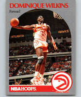 1990-91 Hoops #36 Dominique Wilkins Hawks NBA Basketball