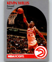 1990-91 Hoops #37 Kevin Willis Hawks NBA Basketball