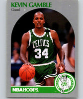 1990-91 Hoops #40 Kevin Gamble Celtics NBA Basketball