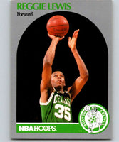 1990-91 Hoops #43 Reggie Lewis Celtics NBA Basketball