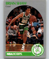 1990-91 Hoops #48 Brian Shaw Celtics NBA Basketball