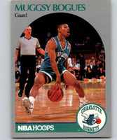 1990-91 Hoops #50 Muggsy Bogues Hornets NBA Basketball