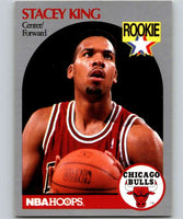 1990-91 Hoops #66 Stacey King RC Rookie Bulls NBA Basketball