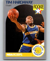 1990-91 Hoops #113 Tim Hardaway RC Rookie Warriors NBA Basketball