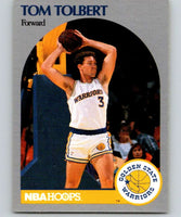 1990-91 Hoops #121 Tom Tolbert RC Rookie Warriors NBA Basketball