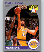 1990-91 Hoops #154 Vlade Divac RC Rookie Lakers NBA Basketball