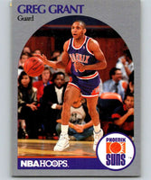 1990-91 Hoops #235 Greg Grant RC Rookie SP Suns UER NBA Basketball