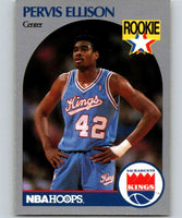 1990-91 Hoops #257 Pervis Ellison RC Rookie SP Sac Kings NBA Basketball