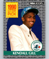1990-91 Hoops #394 Kendall Gill RC Rookie Hornets NBA Basketball