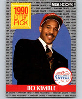 1990-91 Hoops #397 Bo Kimble RC Rookie Clippers NBA Basketball