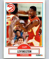 1990-91 Fleer #2 Cliff Levingston Hawks NBA Basketball