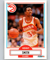 1990-91 Fleer #4 Kenny Smith Hawks NBA Basketball