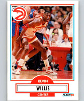 1990-91 Fleer #7 Kevin Willis Hawks NBA Basketball