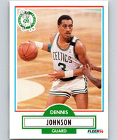 1990-91 Fleer #9 Dennis Johnson Celtics NBA Basketball