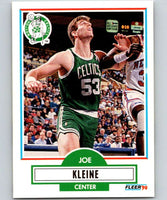 1990-91 Fleer #10 Joe Kleine Celtics NBA Basketball