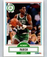 1990-91 Fleer #13 Robert Parish Celtics NBA Basketball