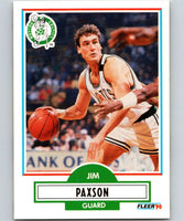 1990-91 Fleer #14 Jim Paxson Celtics NBA Basketball