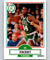 1990-91 Fleer #15 Ed Pinckney Celtics NBA Basketball