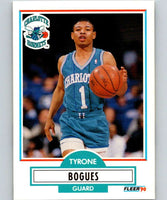1990-91 Fleer #16 Muggsy Bogues Hornets NBA Basketball