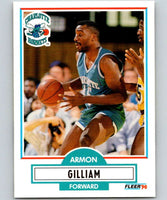 1990-91 Fleer #19 Armon Gilliam Hornets NBA Basketball