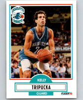 1990-91 Fleer #21 Kelly Tripucka Hornets NBA Basketball