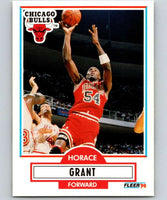 1990-91 Fleer #24 Horace Grant Bulls NBA Basketball